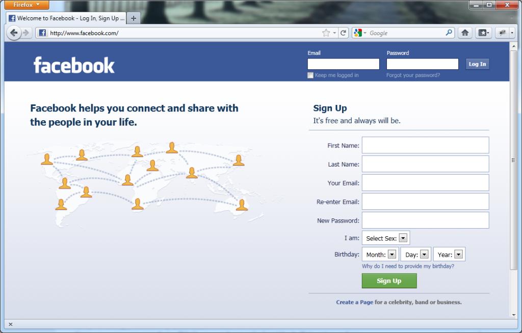 Niente Facebook durante idomiciliari