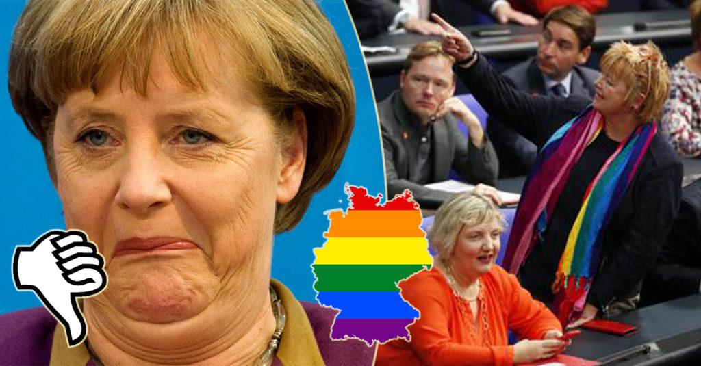La Germania si tinge d'arcobaleno
