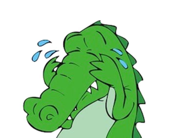 Il pianto delcoccodrillo