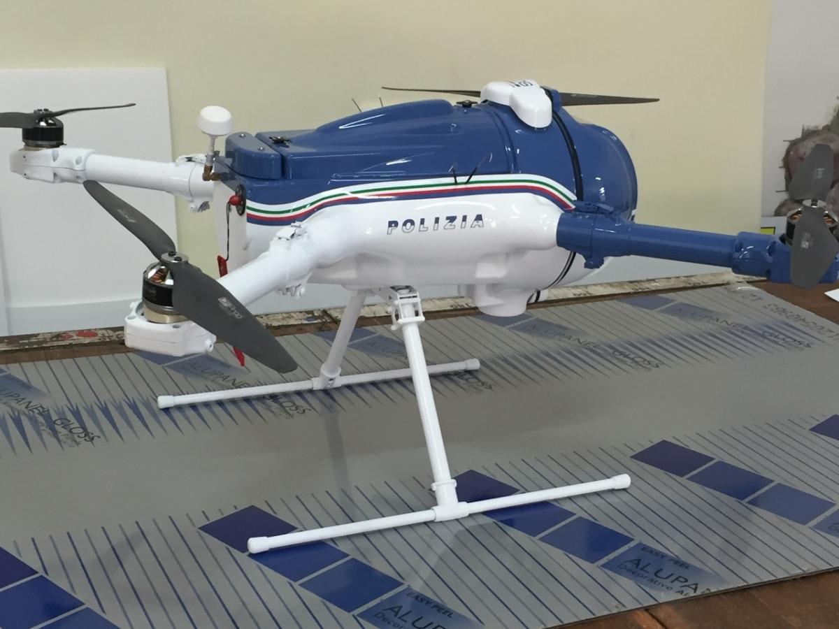Il drone alleato della polizia: scoperta coltivazione dicannabis.